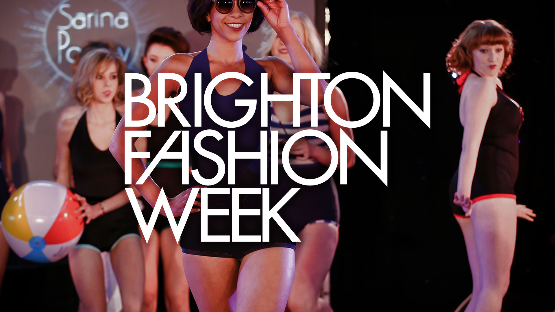 Poster for Brighton Fashion Week