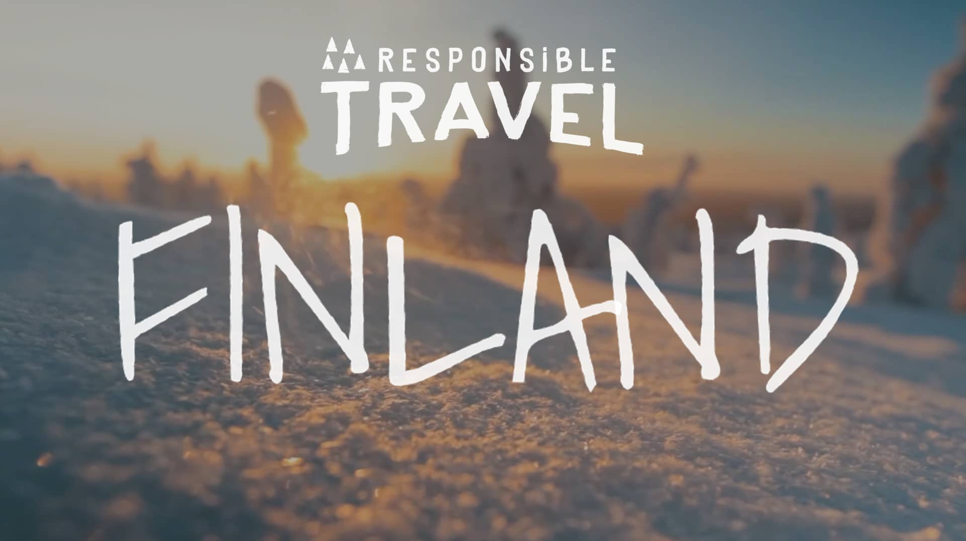 Poster for Responsible Travel: Finland