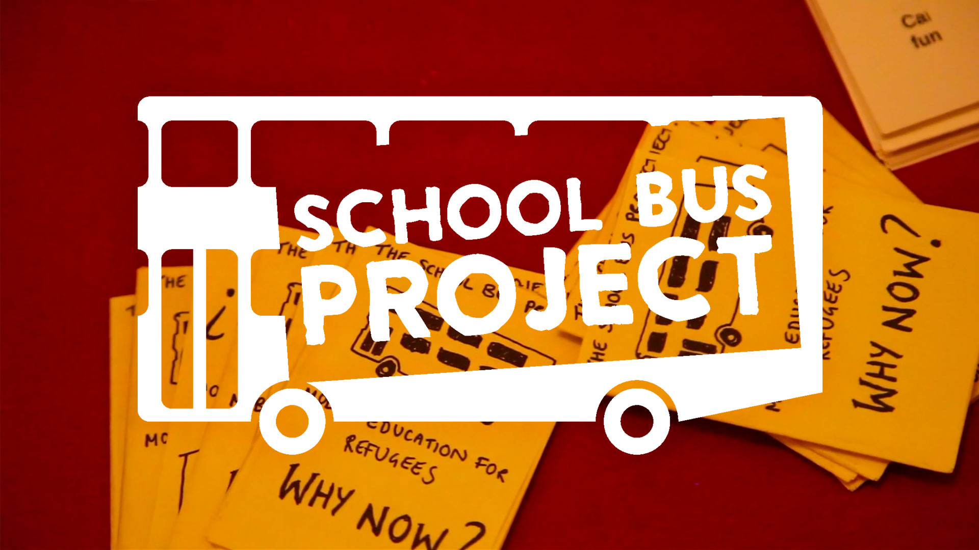 Poster for School Bus Project